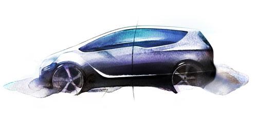 Opel欧宝-Meriva-概念车
