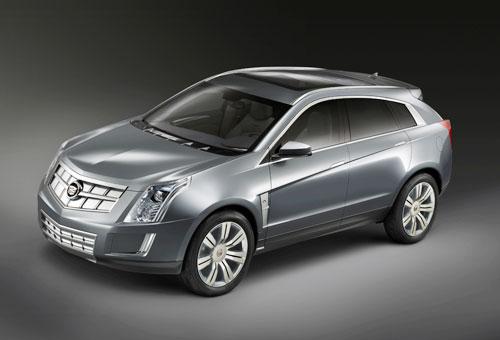 凯迪拉克-Provoq-燃料电池概念车