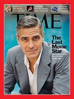 乔治-克鲁尼接受《Time》杂志访问
