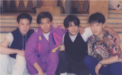 当年叱咤香港娱乐圈的四大天王图片