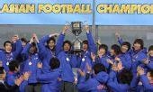 图文:[四强赛]颁奖典礼 韩国队庆祝