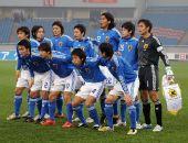 图文:[四国赛]韩国1-1日本 日本男足首发