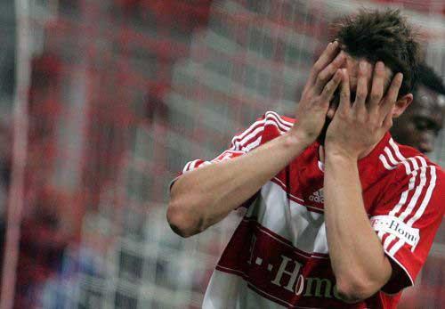 图文:[德甲]拜仁1-1汉堡 错失良机