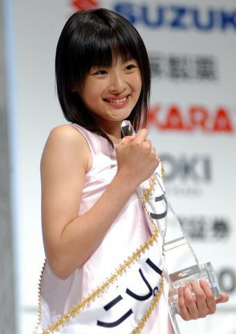 """2006年获得日本""""国民美少女""""称号"""