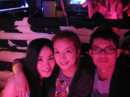 左起:王菲、赵薇、林丹