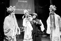 三个唐明皇和一个杨贵妃