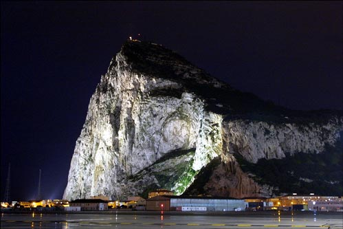Gibraltar The Upper Rock大石头