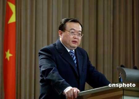 2月26日,外交部举行例行新闻发布会,发言人刘建超回答记者提问。 中新社发 廖攀 摄