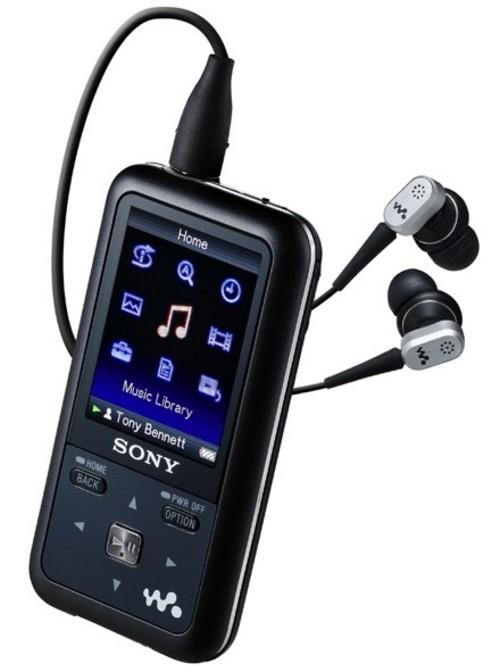 索尼美国公布3款Walkman新机 最高16GB