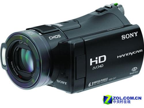 送8G原厂记忆棒 索尼高清摄像机CX7E促销
