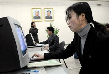 人民大学习堂里亦有计算机设备供学员使用。
