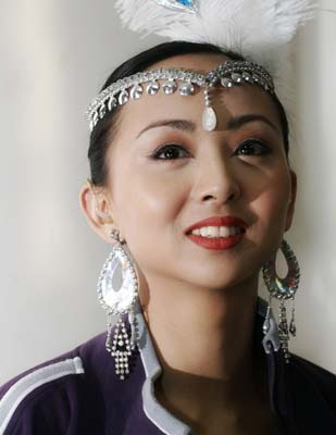 中国残疾人艺术团艺术总监 邰丽华