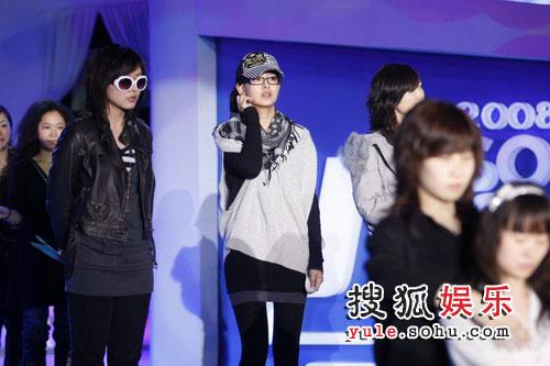 图:搜狐十年庆典彩排 搜狗女声登台亮相