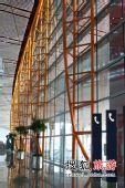 首都机场T3航站楼大厅内场景[组图]