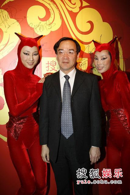 图:搜狐十年庆典酒会 上影集团总裁任仲伦