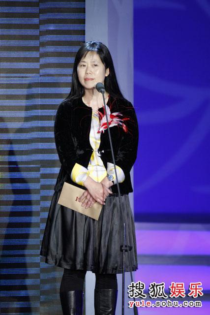图:现场 搜狐首席营销官王昕揭晓商业大片