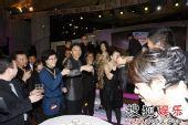 图:搜狐十年庆典现场 众人举杯庆贺