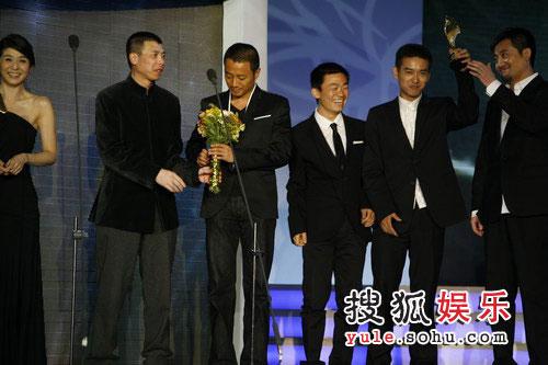 冯小刚带领《集结号》剧组