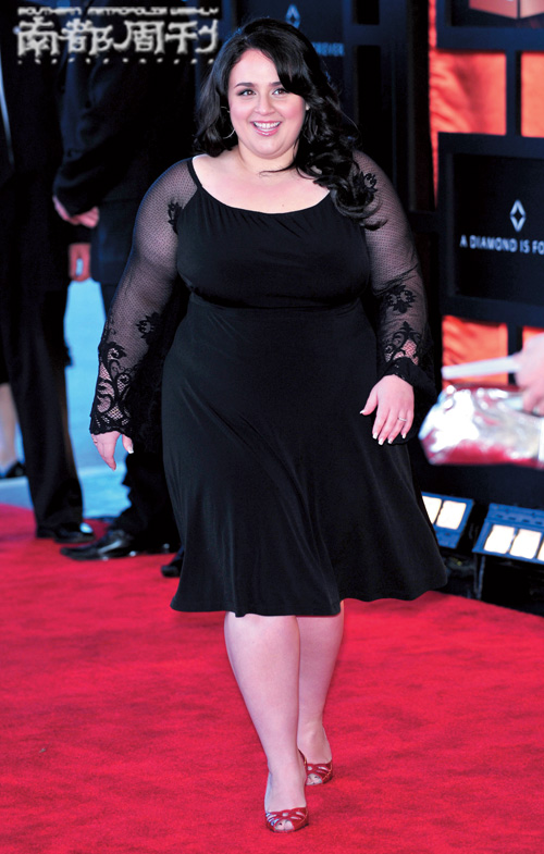 沈殿霞的肥肥时尚:美丽胖女人组图