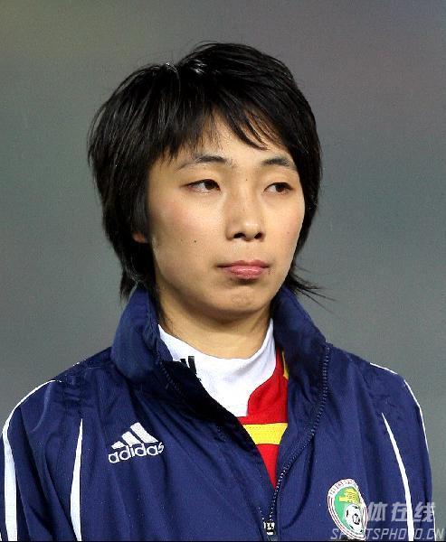 中国女足球员一览 前锋曲飞飞