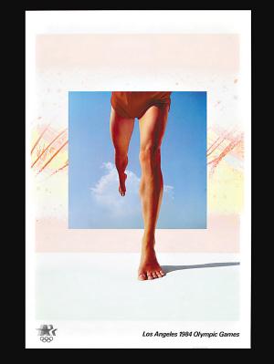 1984年洛杉矶奥运会海报