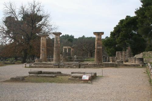 圣火取火所在地-赫拉神庙