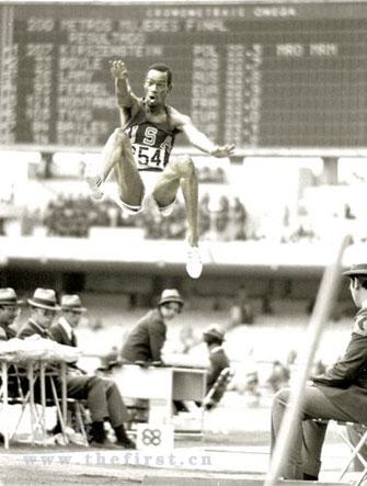 尽管鲍勃·比蒙在一生中只参加过一届奥运会,在决赛中也只试跳了一次,