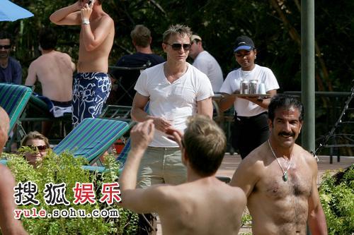 丹尼尔·克雷格目前在巴拿马拍戏