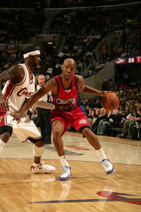 图文:[NBA]骑士胜快船 看卡塞尔的手