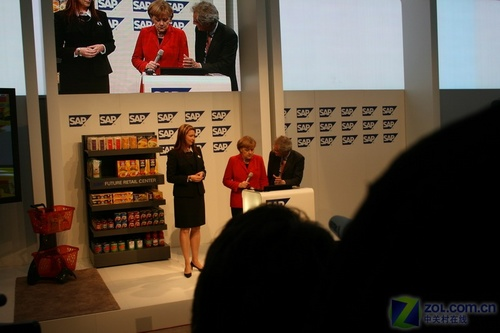 CeBIT2008:德国总理默克尔亲临SPA展台