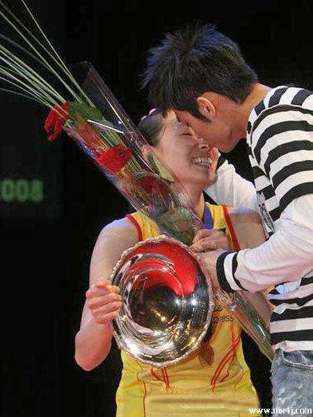 林丹和谢杏芳希望这一幕第三次在全英赛上演