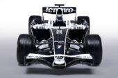 图文:[F1]威廉姆斯展示新涂装 新车正面