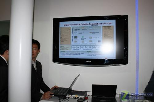Cebit 2008之华为篇:网络架构是关键