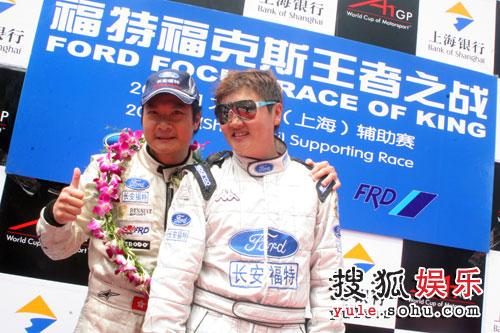 图:梦舟队队员孙楠参加上海A1赛车比赛 - 03