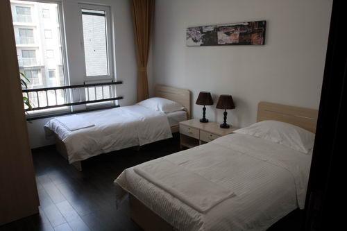 两个人的房间很宽敞
