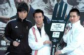 香港乒坛好手与市民一同迎奥运 希望取得好成绩