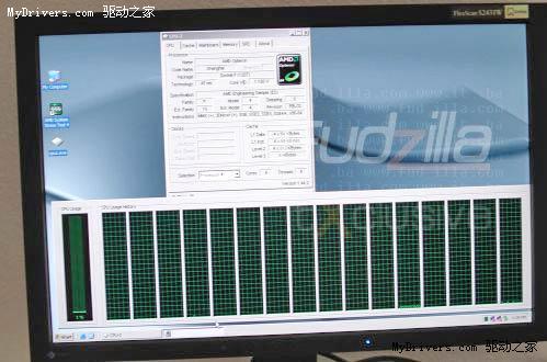 四路四核心45nm上海处理器截图