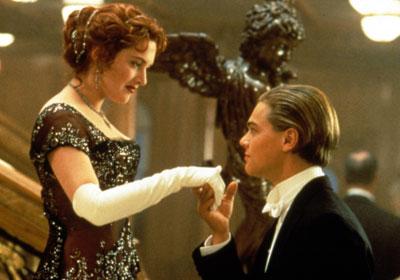 坦尼克号》中的Jack Dawson 和 Rose DeWitt Bukater-盘点好莱坞屏图片