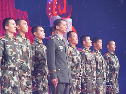 抗洪英雄刘刚和他战友们