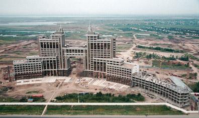 图文:哈萨克斯坦首都阿斯塔纳 城市建筑