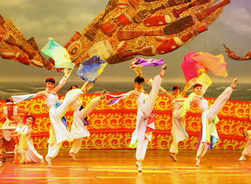 资料图片 上海歌舞团 中华鼓舞 龙之声 34