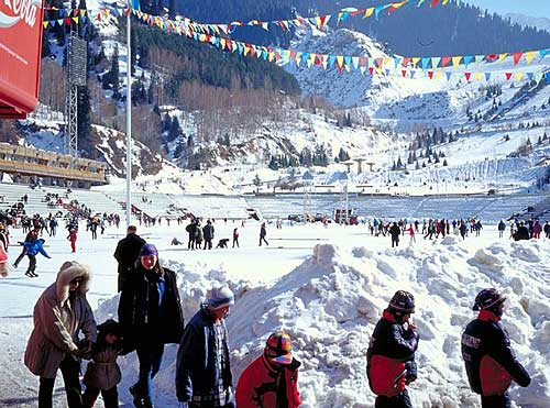 阿拉木图火炬线路解读 麦迪奥滑雪场