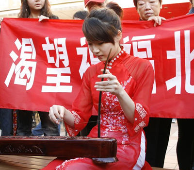 作为雅典8分钟的奥运宝贝之一,唐小媛并没有像唐嫣那样就此走红