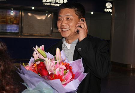 图文:刘翔低调回国瞒天过海 冯树勇电话通报