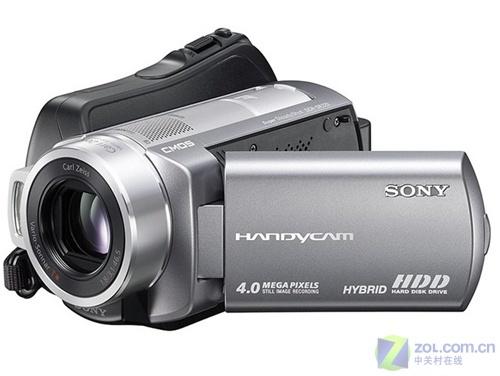 60GB硬盘15倍光变带防抖 索尼DV220E上市