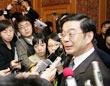 湖南省长接受采访