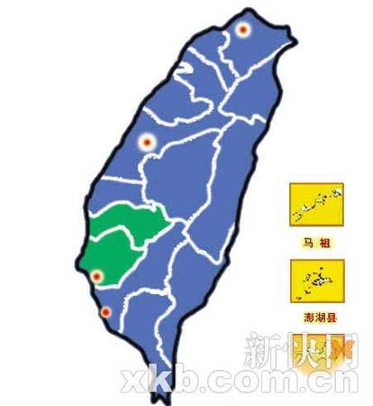 选情预测绿营仅保住嘉南4县市