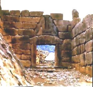 迈锡尼狮子门遗址