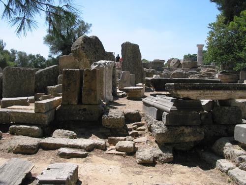 世界古代遗迹手绘