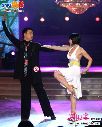 温喜庆在舞蹈